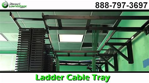 Rack Cable Management Tray by Ladder Cable Tray For Cat5e Cat6 Fiber Cable Management