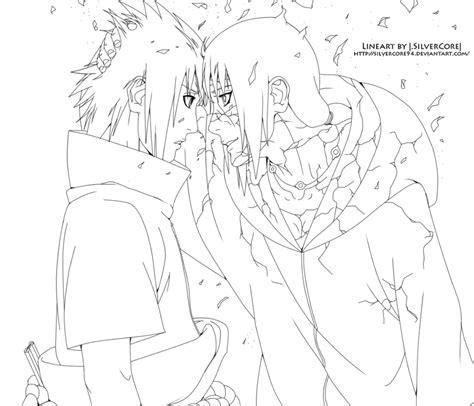 sasuke coloring pages print freecoloring4u com