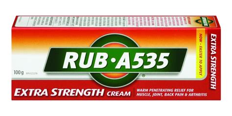 Kitchen Cabinet Cart by Buy Rub A535 Extra Strength Cream 100 G From Value Valet