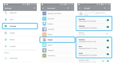 sync android how to backup android to cloud
