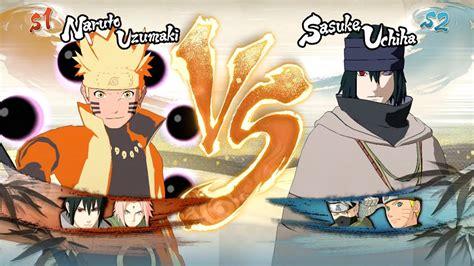 naruto shippuden ultimate ninja storm  sage  paths naruto  sasuke   youtube