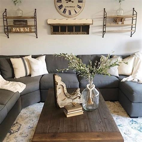 farmhouse living room gray site about home room