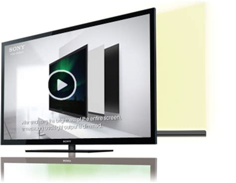 salon edge led l le r 233 tro 233 clairage led des tv sony la technologie des