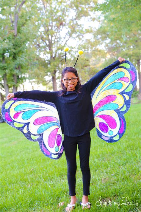 beautiful butterfly costume easy  sew idea skip