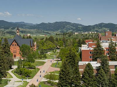 Of Montana Mba Tuition by Cuses And Agencies Marketing Montana State