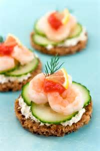 scrumpdillyicious baby shrimp cucumber canap 233 s with boursin