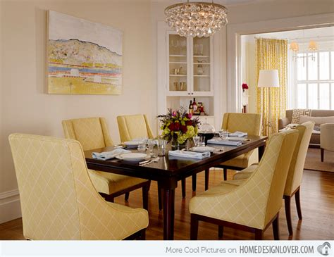 yellow dining room ideas 17 bright and pretty yellow dining room designs decoration for house