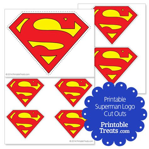 printable superman party decorations printable superman logo cut outs superman party ideas