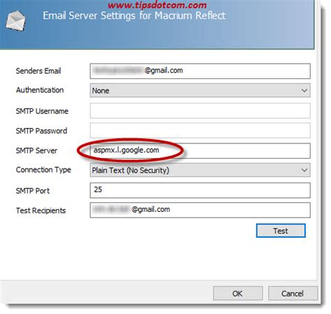 gmail smtp smtp gmail settings for optimal results