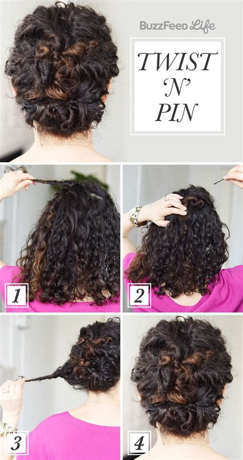 Simple Wedding Hairstyles To Do At Home by Best 25 Naturally Curly Hairstyles Ideas On