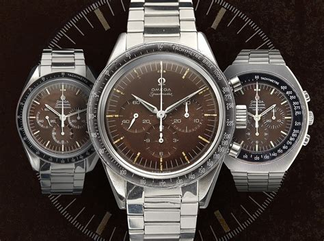 best omega speedmaster omega speedmaster tropical brown vintage replica