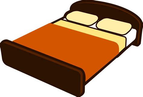 bed clip bed clipart transparent pencil and in color bed clipart