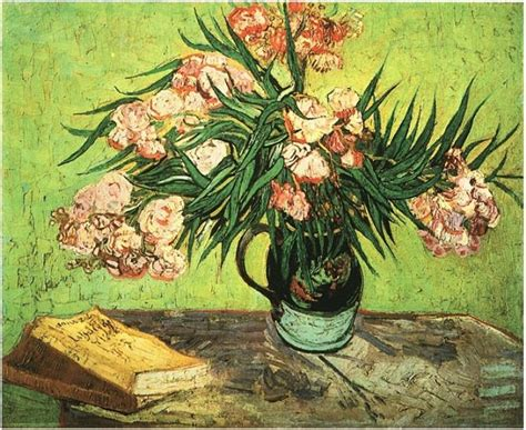 libro gauguin metamorphoses museum of still life vase with oleanders and books by vincent van gogh 591