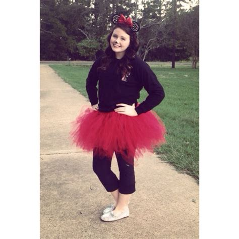Handmade Disney Costumes - diy minnie mouse costume for all ages children