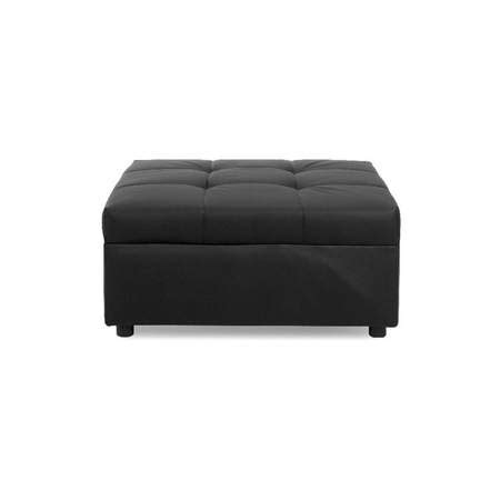 black leather square ottoman metro black leather square ottoman rentals furniture rentals