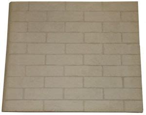 Fireplace Firebrick Replacement by Replacement Refractory Panel 24 Inch X 28 Inch