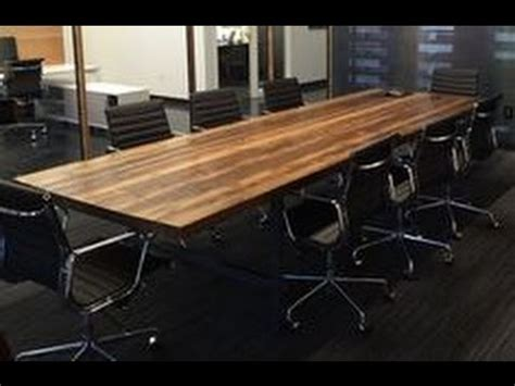 wood conference table wood iron conference room table