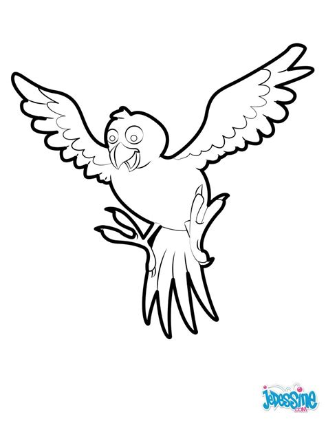 Tropical Bird Coloring Pages tropical bird coloring pages hellokids