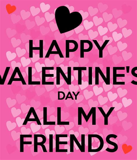 happy valentines day my friend happy s day all my friends poster jetaime