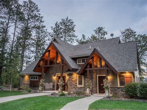 luxury cabin rentals wisconsin luxury lakefront cabin rental in wisconsin vrbo