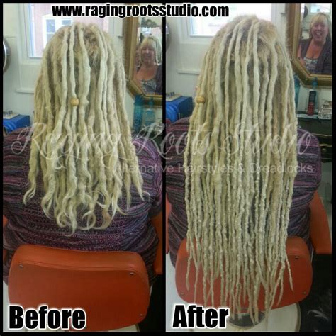 pre dreaded hair extensions dreadlocks extensions before and after www pixshark com