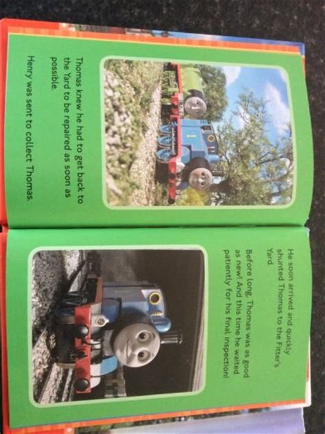 trouble in a green books the tank engine and friends two ladybird