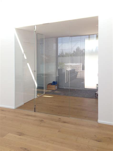 Modern Island Kitchen - ganzglas windfang fl 228 chenb 252 ndig modern m 252 nchen von eber designt 252 ren gmbh