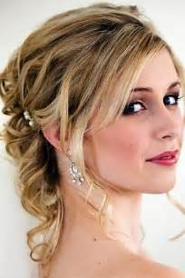 partial updos for medium length hair half up half down wedding hairstyles mother groom 8
