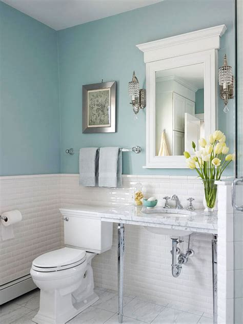 Ideas For Remodeling A Small Bathroom 10 Affordable Colors For Small Bathrooms Decorationy