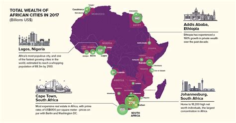 how much the richest 1 of south africans earn map which cities hold africa s wealth