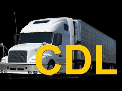 licencia cdl preguntas del examen vehiculos de combinacion 9 39 cdl en espa 241 ol preguntas del examen cdl le