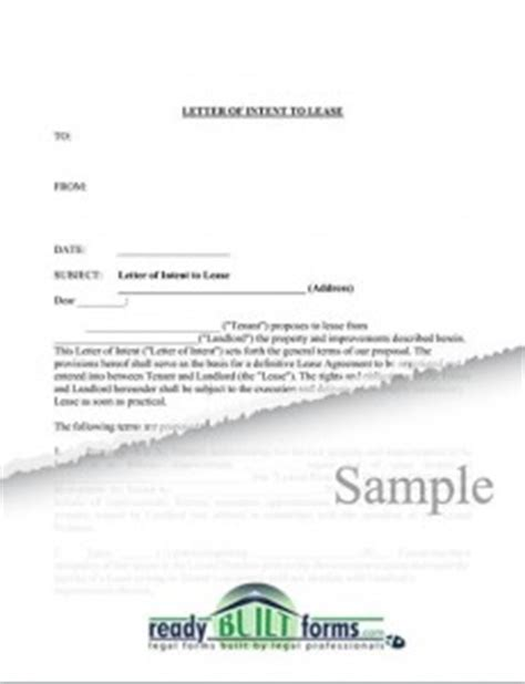 Letter Of Intent To Lease Warehouse Intent Letters Letter Sles Templates