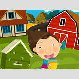 Cartoon Farm Scene | 800 x 600 jpeg 82kB