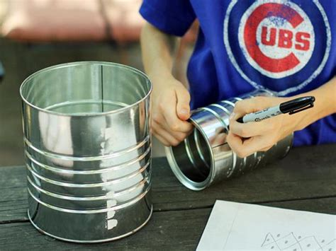 Handmade Tanglung - how to make a tin can lantern hgtv