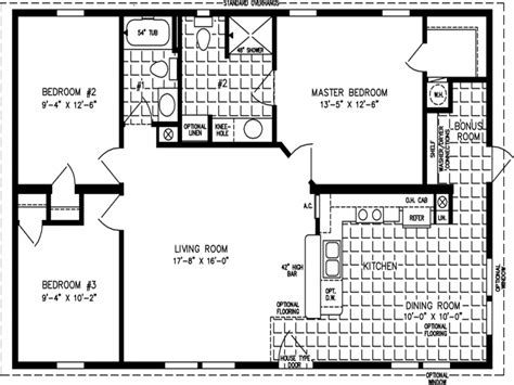 Ranch House Floor Plans House Floor Plans Under 1000 Sq Ft House Plans 1000 Square And