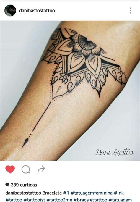 tattoo mandala bracelet bracelete mandala tattoo pinterest mandalas and mermaids