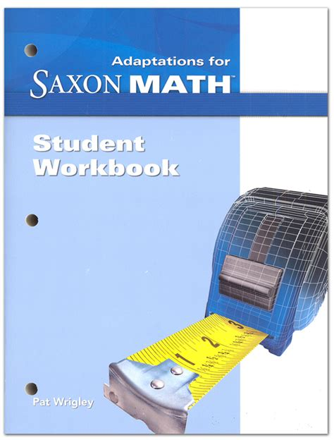 libro student workbook for mathematics math intermediate 5 adaptations student workbook 018054 details rainbow resource center inc