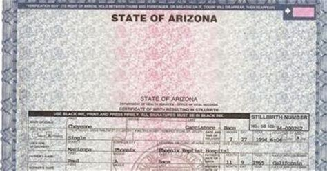 Az Marriage Records Get Vital Record Birth Certificate Birth