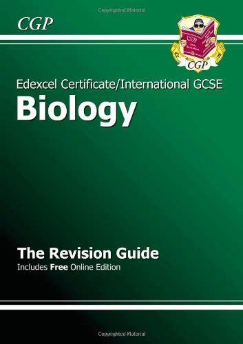 edexcel international gcse biology comparamus edexcel international gcse biology revision guide with online edition a g course