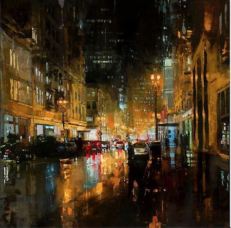 imagenes urbanas abstractas cuadros modernos pinturas y dibujos paisajes abstractos