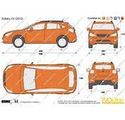 The Blueprintscom  Vector Drawing Subaru XV