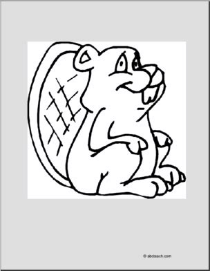 abcteach coloring pages coloring page beaver abcteach
