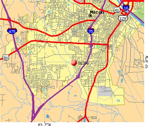 macon zip code map 31206 zip code macon profile homes