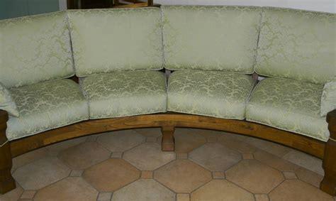 divano circolare divano circolare saro in legno fabbrica di zona giorno su