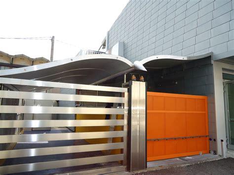 tettoia in acciaio tettoie arrcat artigiani dell acciaio