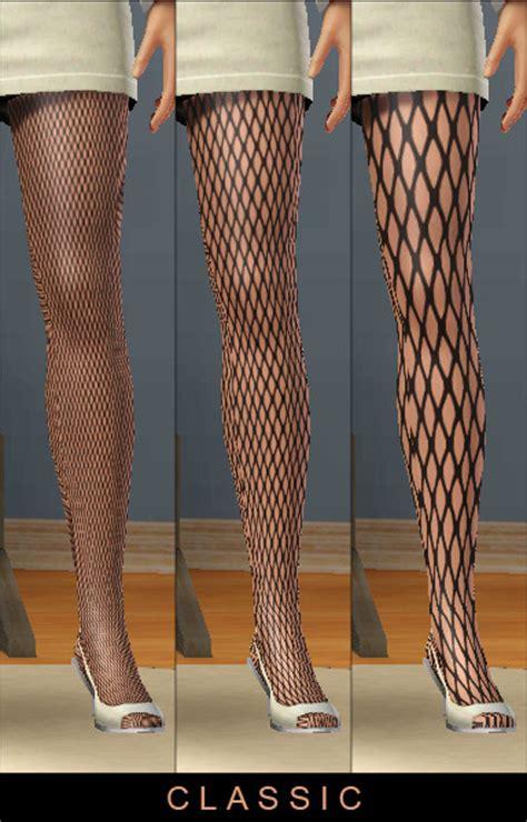 mod  sims pseudo fishnet patterns