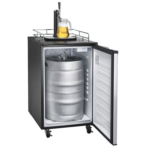 Small Home Bar With Kegerator What Is A Kegerator The Ultimate Draft Fridge