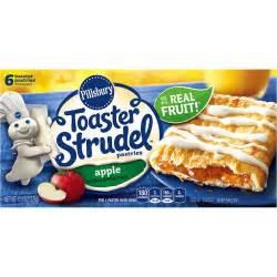 Toaster Strudal Pillsbury Toaster Strudel Apple Toaster Pastries 6 Count