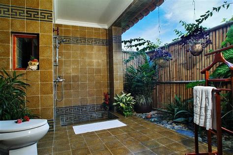 outdoor bathroom ideas 33 outdoor bathroom design and ideas inspirationseek