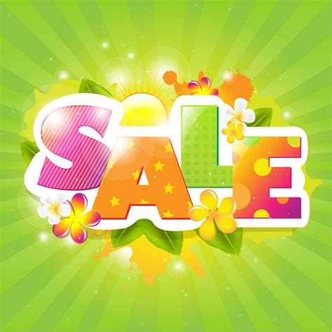 summer sale poster design vector illustration free vector graphics all free web resources